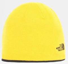 Шапка двухсторонняя The North Face Reversible Tnf Banner Beanie Tnf черный/желтый - 2