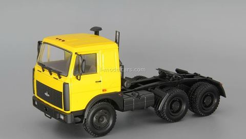 MAZ-64224 1989-1999 tractor truck yellow 1:43 Nash Avtoprom