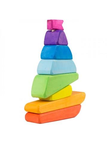 Кораблик пирамидка