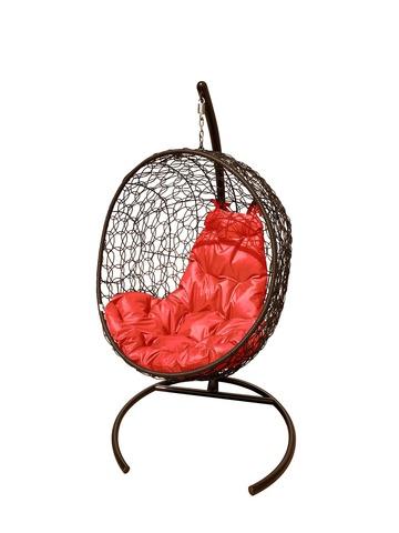 Кресло подвесное Porto brown/red
