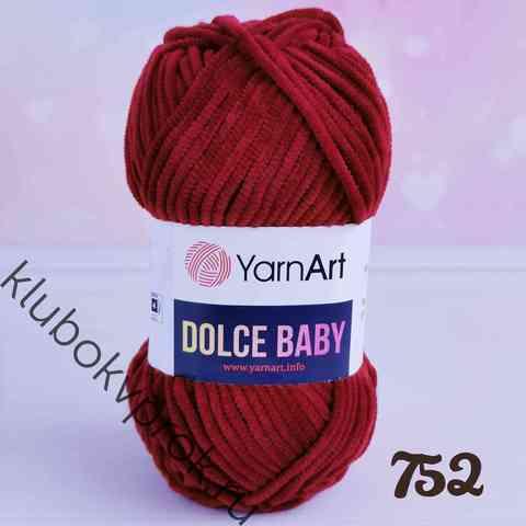 YARNART DOLCE BABY 752, Бордовый