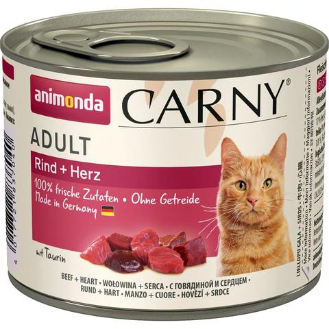 Купить Animonda CARNY Adult - Beef Heart