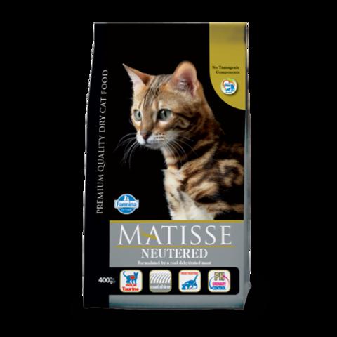 Farmina Matisse Neutered Сухой корм для стерилизованных кошек и кастрированных котов