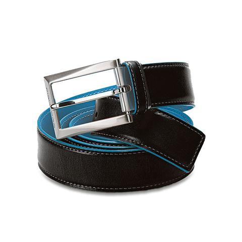 Ремень Piquadro Blue Square, цвет черный, 3,5х125 см (CU1521B2/N)