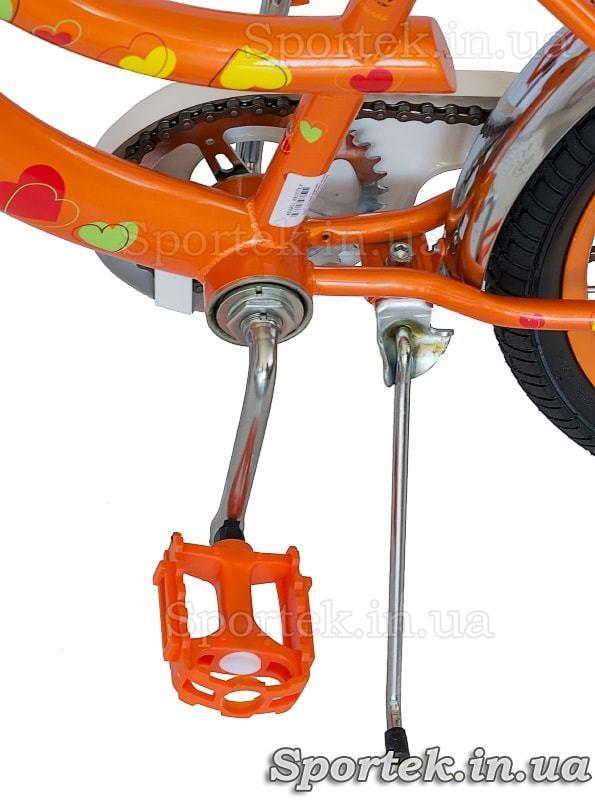 Подножка и педаль велосипеда Formula Flower