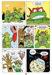 Черепашки-Ниндзя: Приключения. Том 3. Межгалактический рестлинг (Твердый переплет)