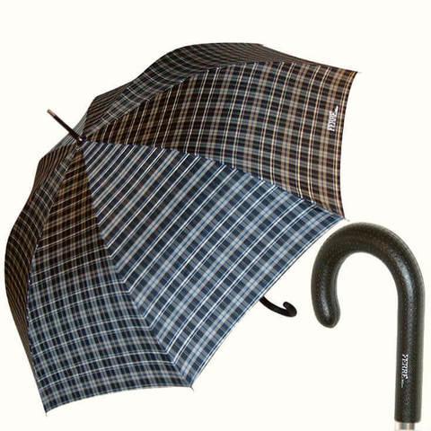 Большой семейный зонт-шотландка
