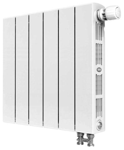 Rifar SUPReMO Ventil 500, 4 секции - радиатор биметаллический