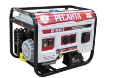 Бензиновый генератор РЕСАНТА БГ 8000 Э (6500 Вт)