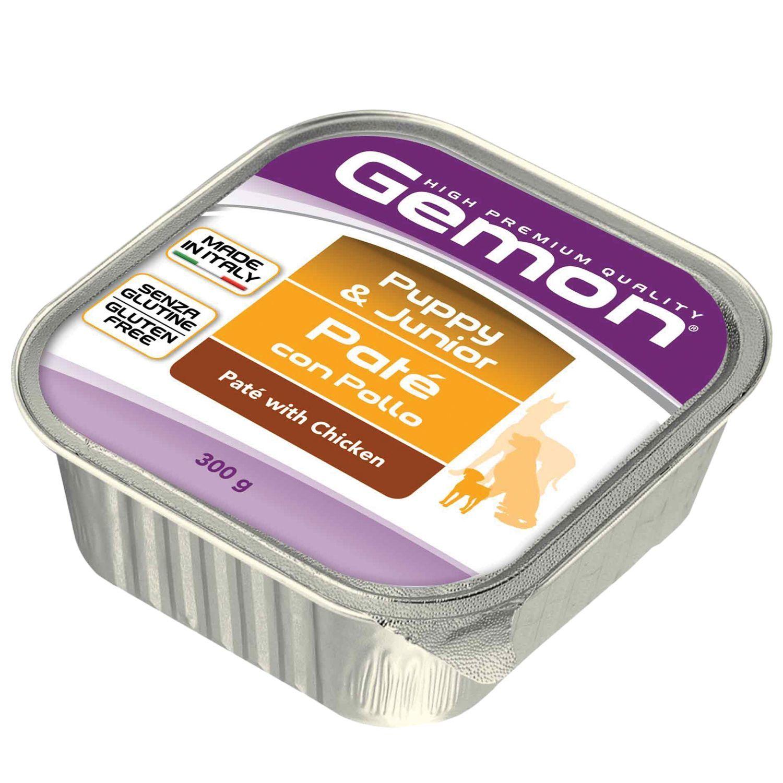 Gemon Консервы для щенков Gemon Dog паштет курица 70300537_1.jpeg