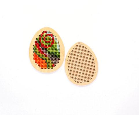 056-6687 Деревянная основа для вышивки, Яйцо заполненное