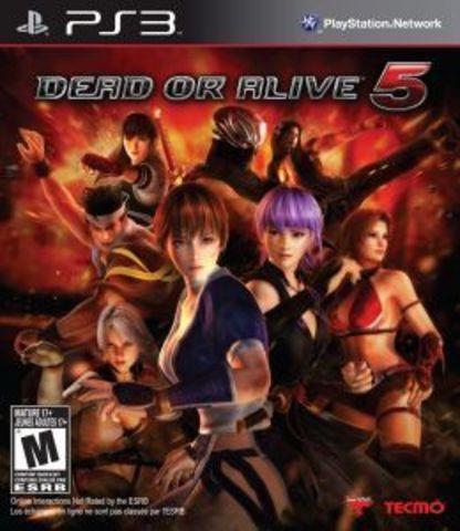 Dead or Alive 5 (PS3, английская версия)