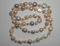 Ожерелье из жемчуга барокко, 63 см