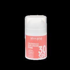 Солнцезащитный крем для лица и тела Календула 30 SPF PINK, 50ml TМ Levrana