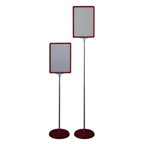 Стойка напольная Attache  двухсторонняя А4 красная
