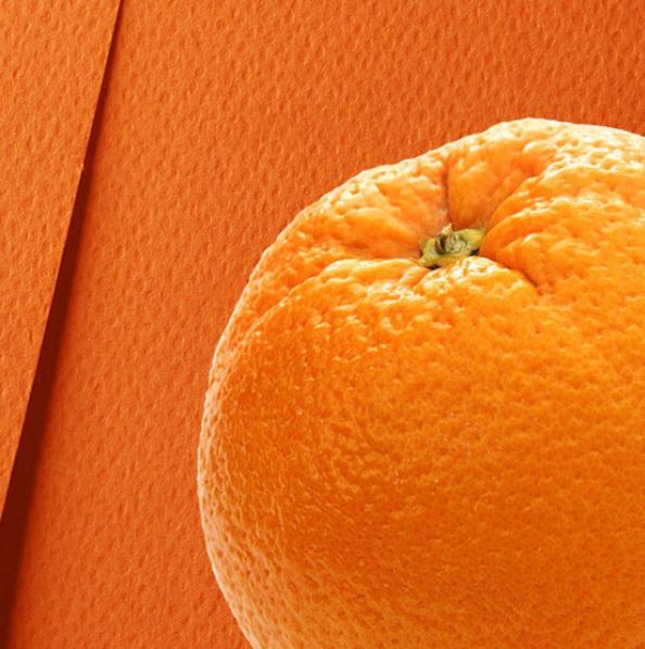Бумага дизайнерская «Фетр» 250 гр. Оранжевый