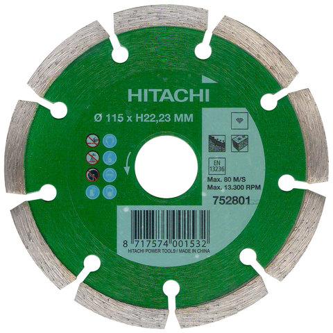 Диск алмазный  универсальный HITACHI 115 мм