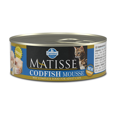 Farmina Matisse Cat Mouse Codfish Консервы для кошек Мусс с Треской