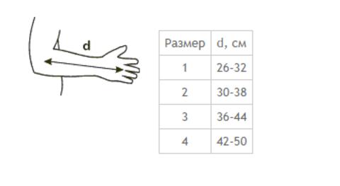 Бандаж для фиксации верхней конечности Tonus Elast 0110