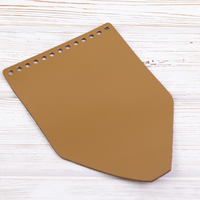 """Вся фурнитура Клапан для рюкзачка кожаный """"Мёд"""" IMG_8909.jpg"""