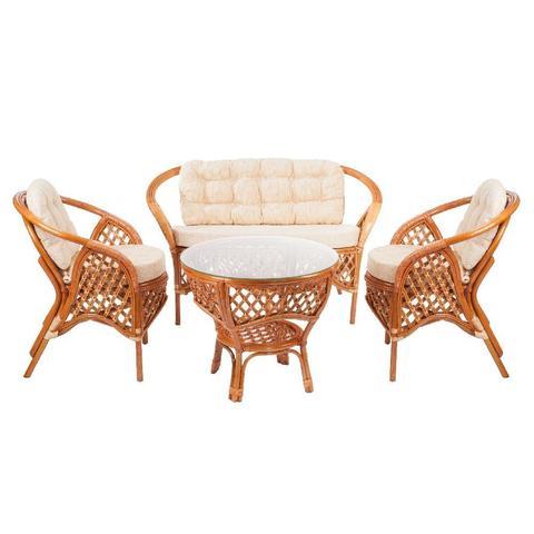 Комплект кофейный MELANG (стол+2 кресла+диван), 1305 К