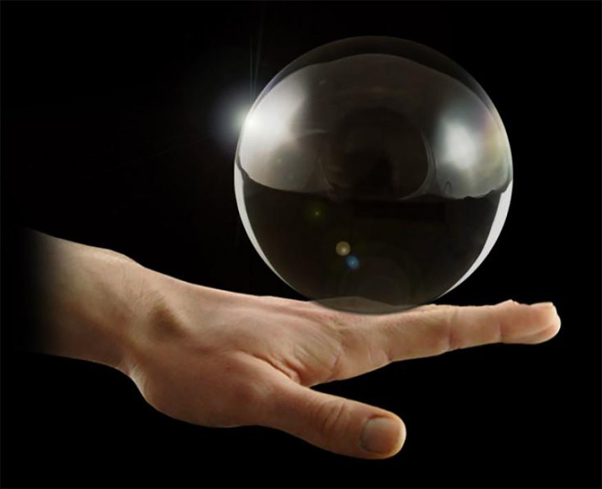 Шар для контактного жонглирования (100 мм.) Фото №2
