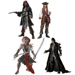 Пираты Карибского моря Сундук мертвеца фигурки серия 02