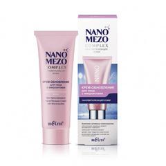 Крем-обновление для лица с микроиглами «Нановитализация кожи», 50 мл. NANOMEZOCOMPLEX