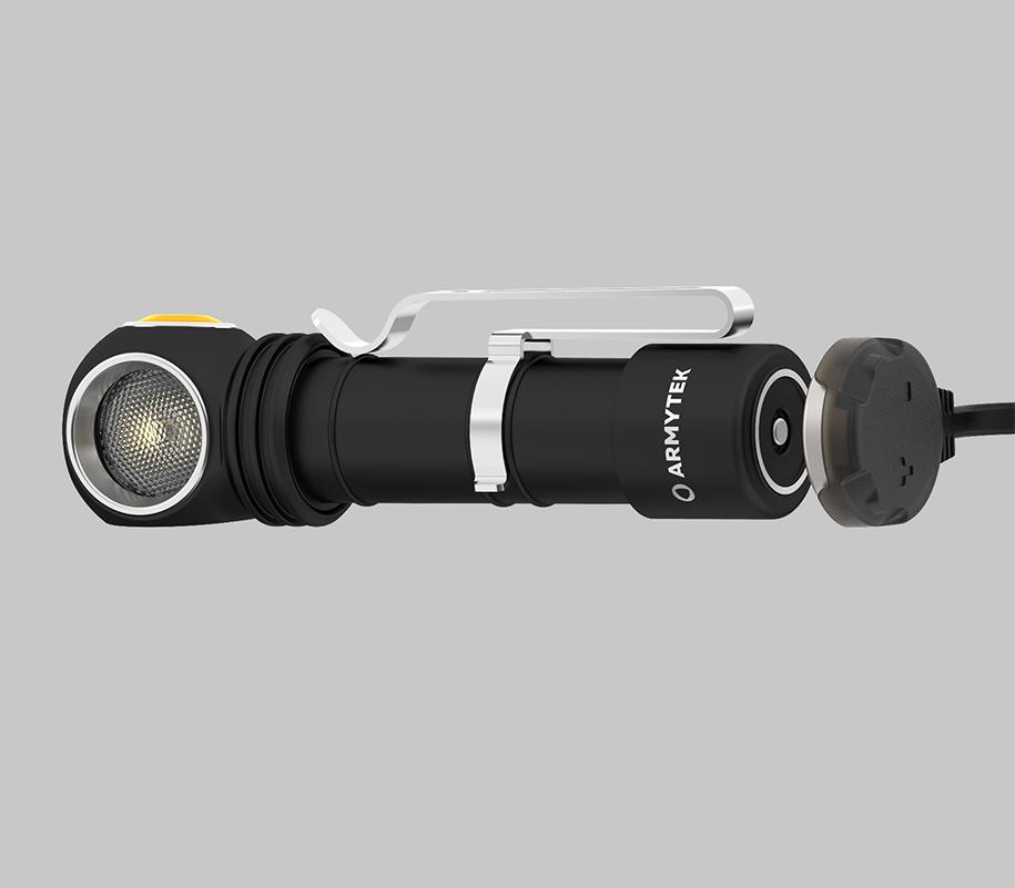 Фонарь Armytek Wizard C2 Magnet USB (теплый свет) - фото 4
