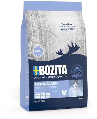 Bozita Original Mini 22/11 Сухой корм для взрослых собак мелких пород с нормальным уровнем активности