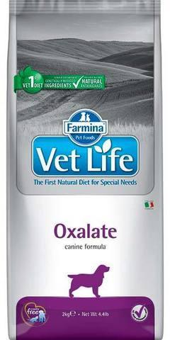 12 кг. FARMINA Vet Life Сухой корм для собак при МКБ (ураты, оксалаты, цистиновые уролиты) Oxalate