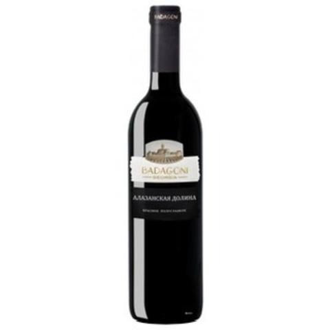 ღვინო ალაზნის ბადაგონის ველი 0.75ლ