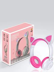Наушники беспроводные ZW-028 с ушами кошки