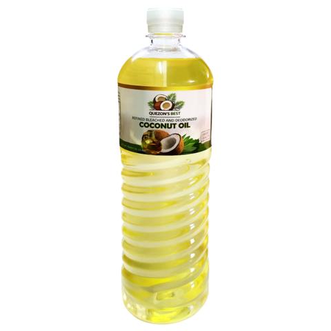 Масло кокосовое рафинированное масло QUEZON'S BEST, 500мл
