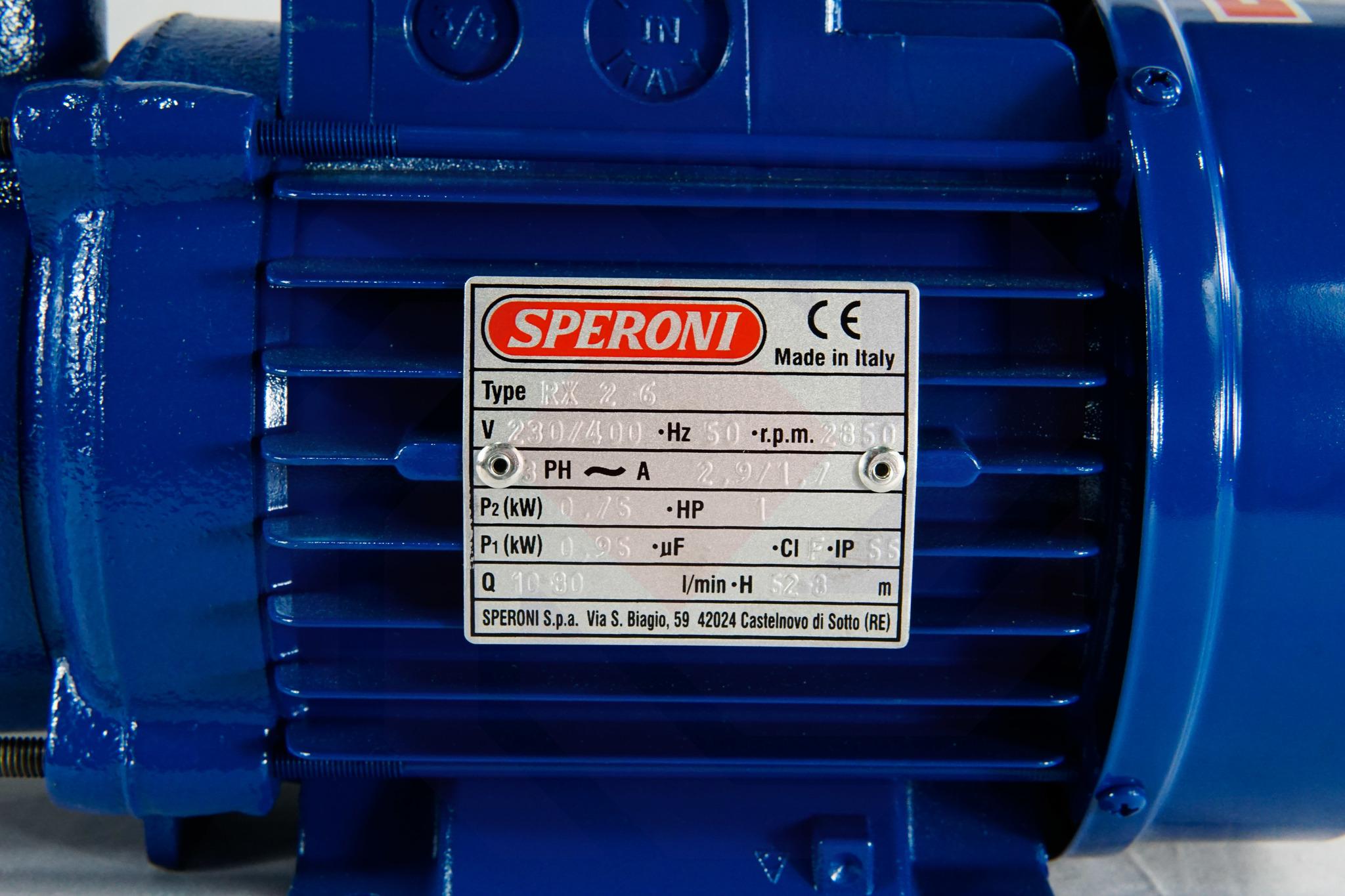 Насос повысительный SPERONI RX 2-6