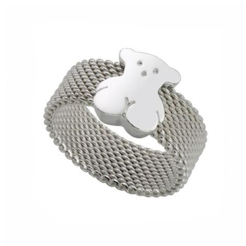 Кольцо Mesh Silver