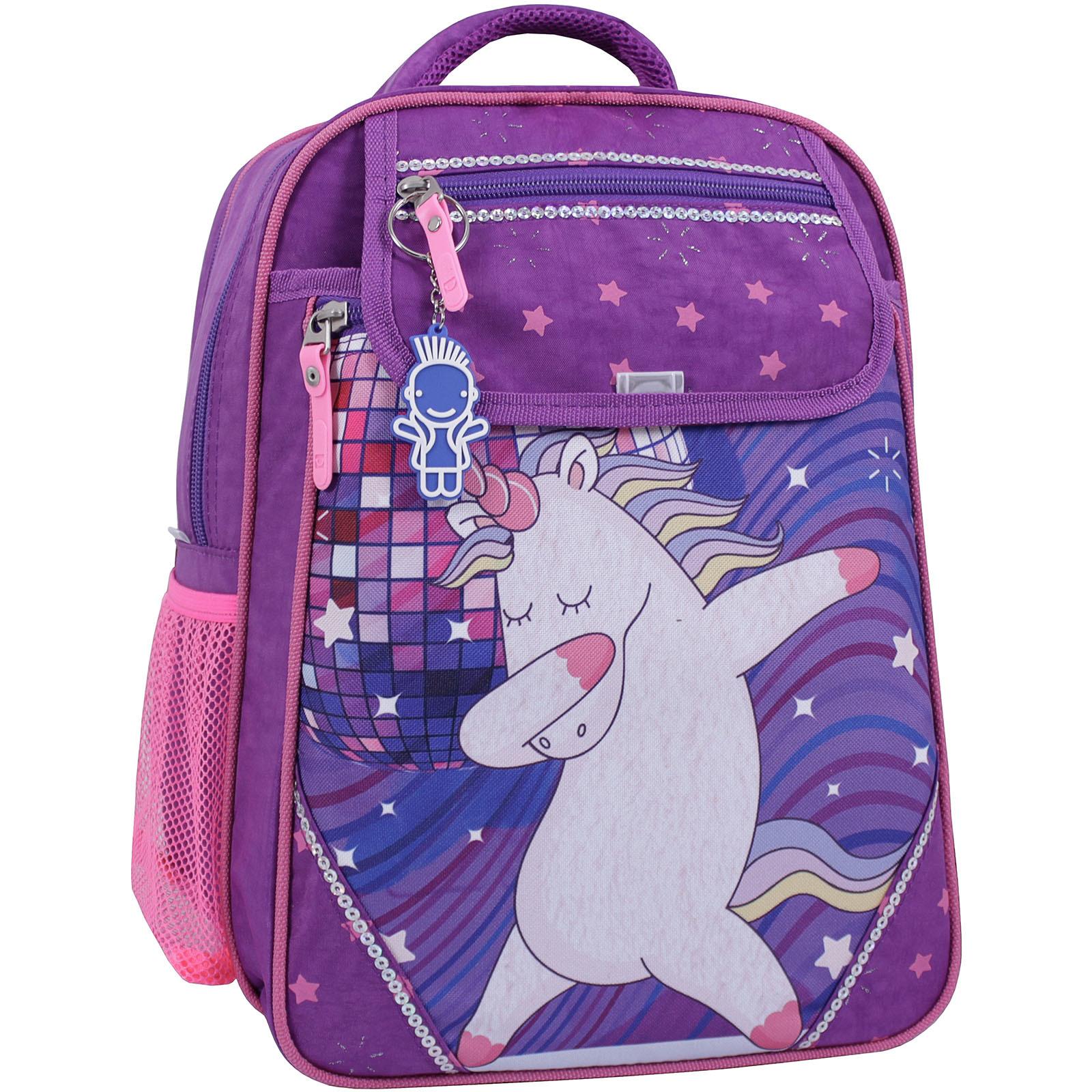 Школьные рюкзаки Рюкзак школьный Bagland Отличник 20 л. 339 фиолетовый 503 (0058070) IMG_1111_суб.503_.JPG