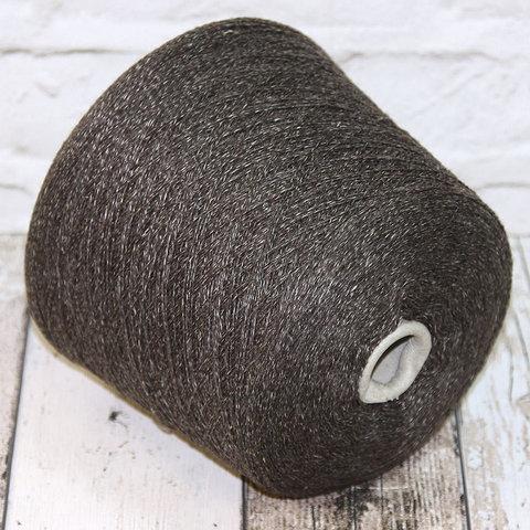 Смесовка со льном и мериносом FIL3 / BRAGA коричневый мулине