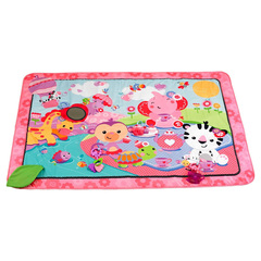 Fisher Price Развивающий коврик Джамбо розовый (BFL58)