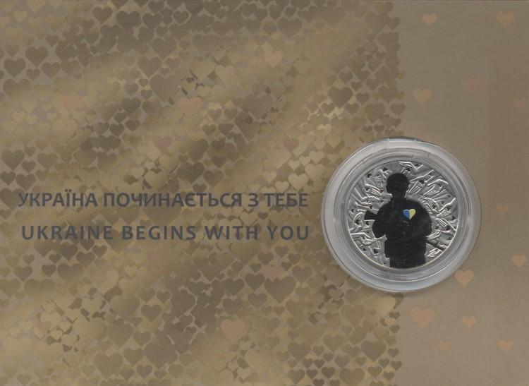 5 гривен 2016 Украина
