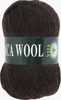Пряжа Vita Alpaca Wool 2955 (Шоколад)
