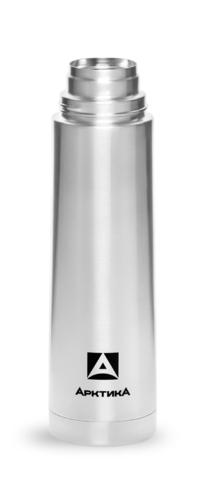 Термос Арктика (0,5 литра) с узким горлом в чехле классический