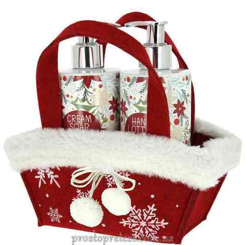Vivian Gray White Christmas Set – Набір для рук (крем-мило, лосьйон)