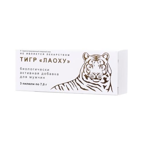 Пилюли Тигр «Лаоху» для стимуляции потенции