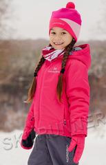 Утепленная куртка Nordski Jr. Motion Raspberry детская