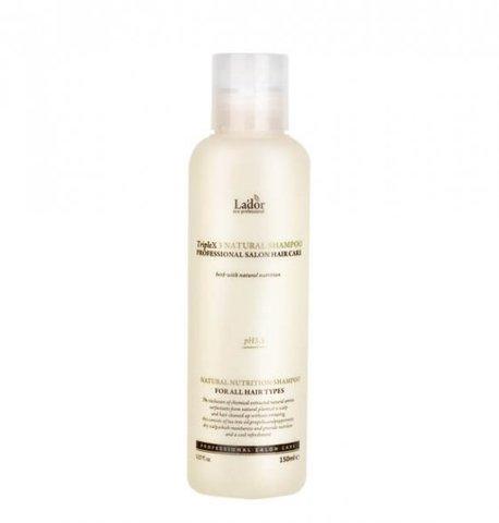 Lador Бессульфатный шампунь с натуральными ингредиентами Lador Triplex Natural Shampoo 150 мл