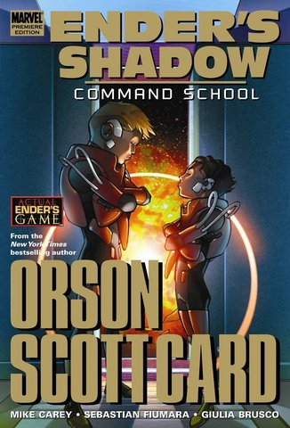 Ender's Shadow: Command School Hardcover