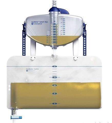 Унометр UnoMeter Safeti plus ConvsTec (для контроля диуреза, с крючком)