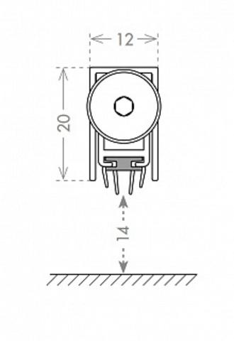 Автоматический порог EASY TREND ASTD A/630 схема