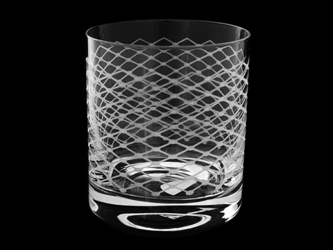 Набор из 6 бокалов для виски «Прозрачная вуаль»